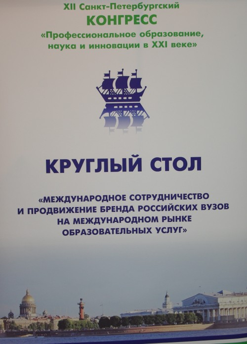 Round Table on International Cooperation and Promotion of Russian Education Abroad